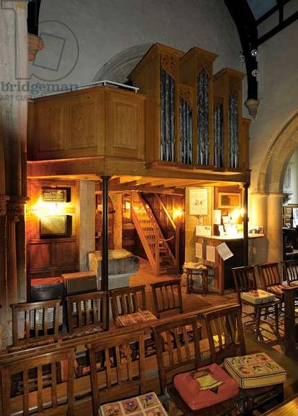 Stinsford, Hardy organ gallery
