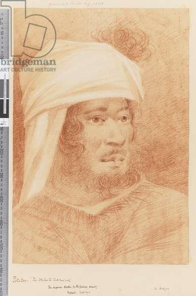 Page 17 Potatow, the Otaheite admiral, 1768-75 (red & white chalk)