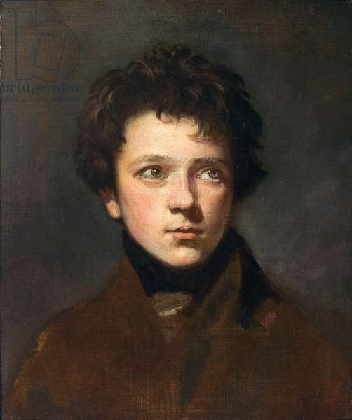 Portrait of a Young Man, c.1800 (oil on canvas)