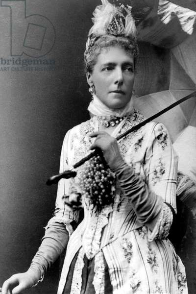 Archduchess Marie Henriette of Austria (1836-1902), queen of Belgium wife of king Leopold II here c. 1875