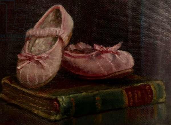 Tiny Pinks, 2020, (oil on canvas)