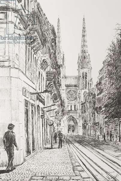 Bordeaux, France, 2010 (ink on paper)