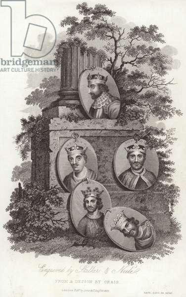 Kings of England (engraving)