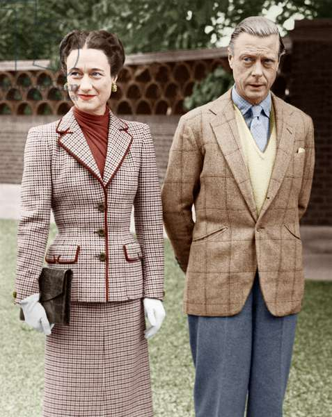 Duke and Duchess of Windsor October 12, 1946 (photo)