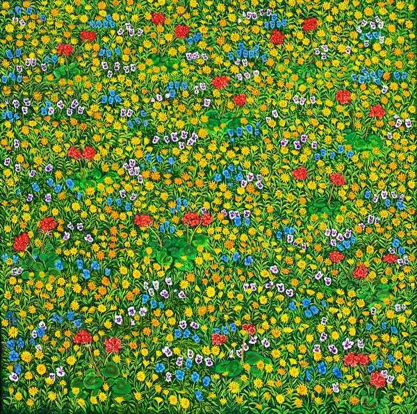 Mille- Fleur, 2012 (oil on canvas)