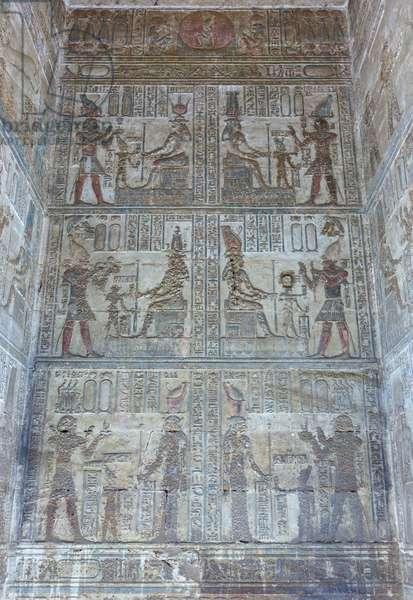 Inner sanctuary, temple of Hathor, Dendara, Egypt