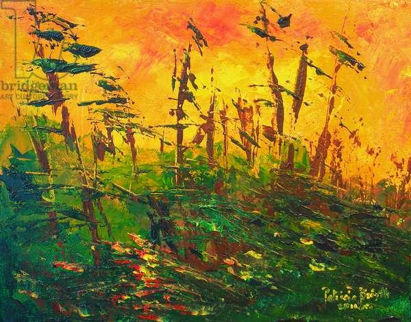 Bayou, 2011 (acrylic on canvas)
