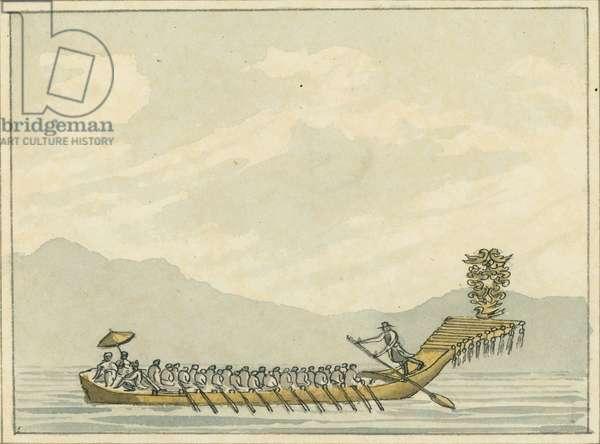 Tour Boat, 1809 (w/c)
