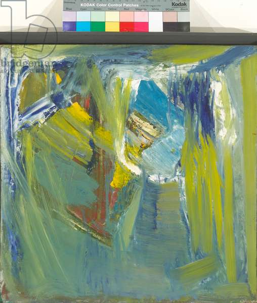 Water Reflection, 1961 (oil on canvas)