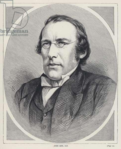 John Ker, DD (engraving)