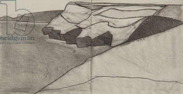 Pentargon drawing 5 10x20cms pencil on paper