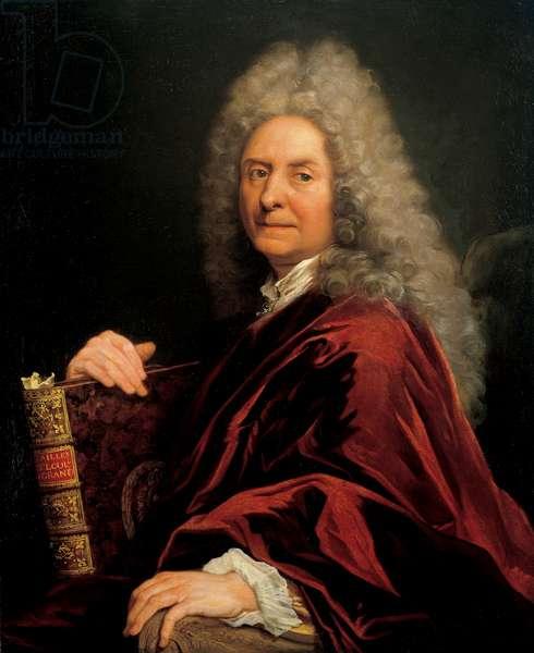 Self-Portrait, 1715 (oil on canvas)