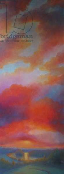 Tall Sky, 2018, (oil on canvas)