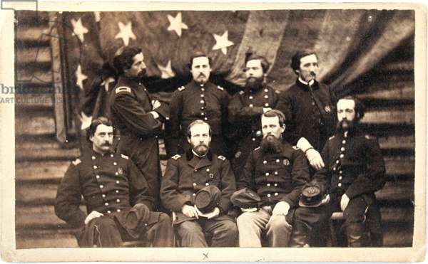 Staff of the 22nd Massachusetts Volunteers
