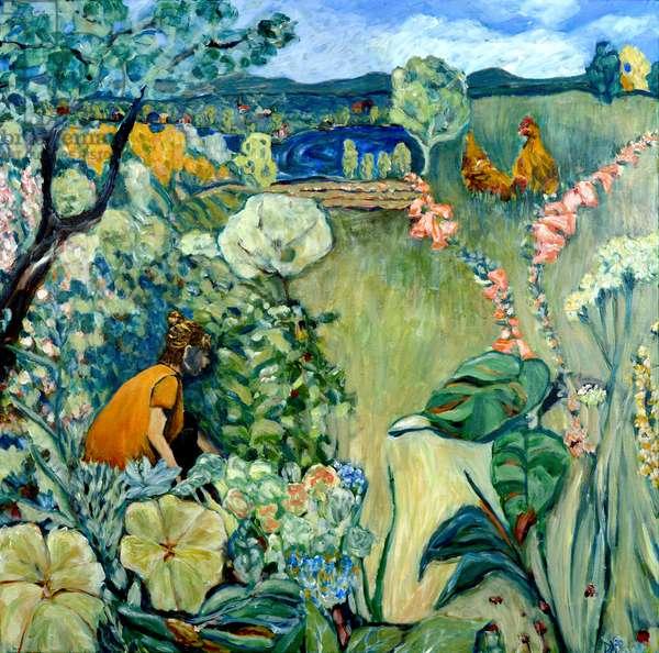 MaIsha's Garden, 2020 (acrylic on canvas)