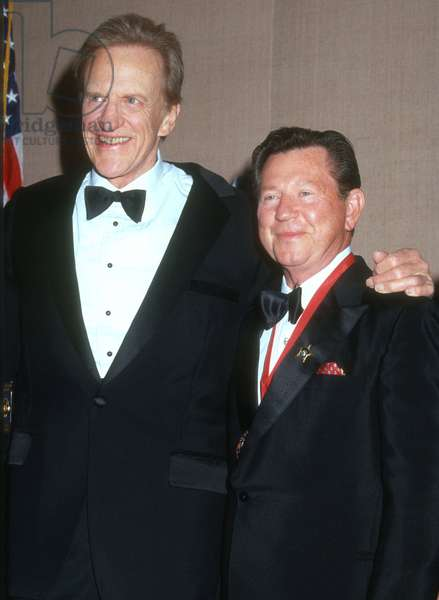 James Arness, Donald OConnor, 1990s (photo)