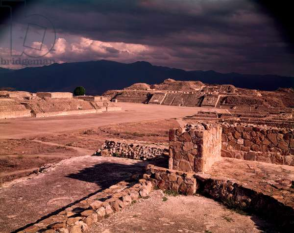 Monte Alban(Zapotec) Oaxaca Mexico