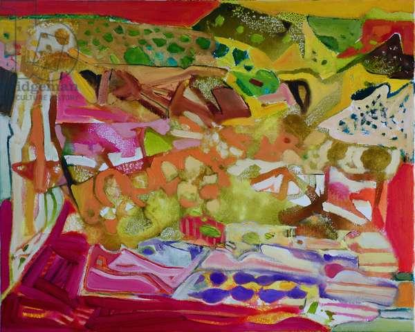 Umbria (oil on canvas)