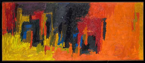 Untitled, 1960 (oil & acrylic on linen)