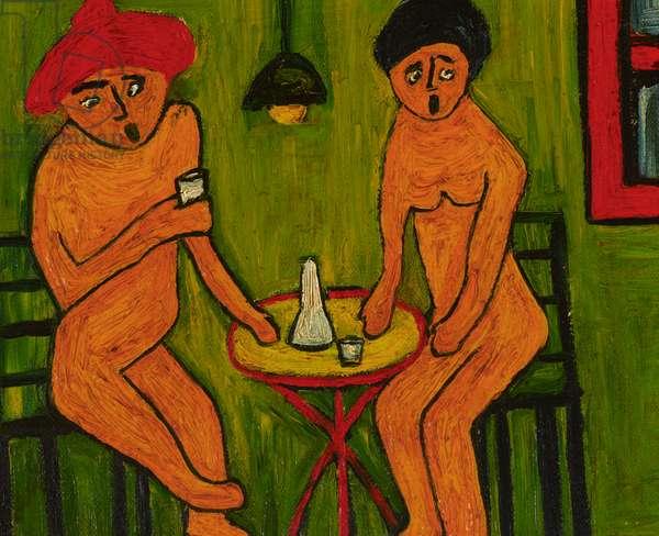 Café Zeus, Berlin (oil on canvas)