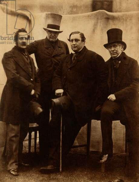 Portrait of some members of Pepoli family (Italian Carbonari exiles in London)