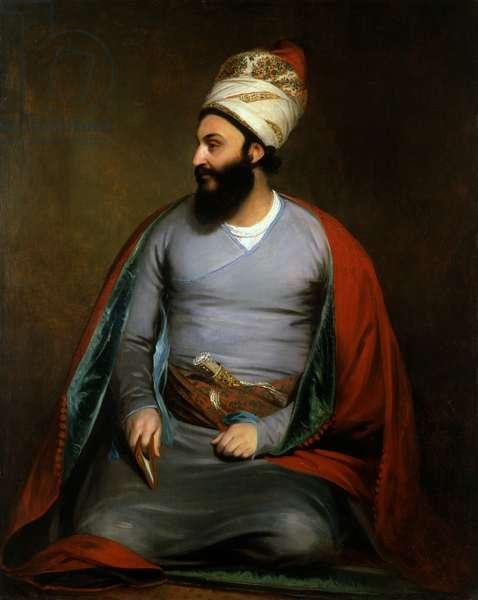 Mirza Abu'l Hassan Khan, 1809-10 (oil on canvas)