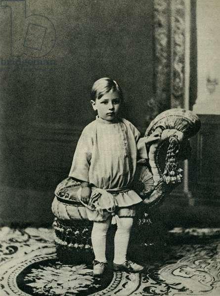 Igor Stravinsky aged three