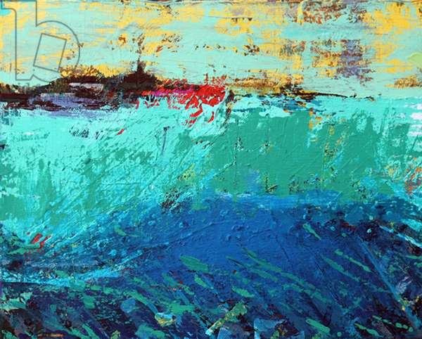 Sound of Iona II (acrylic on canvas)