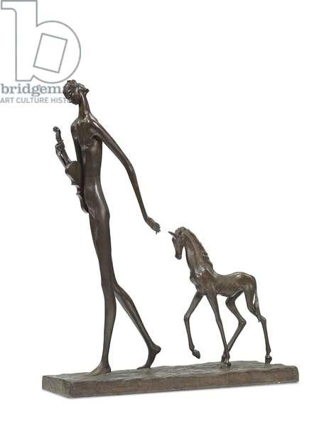 The Unicorn (bronze)