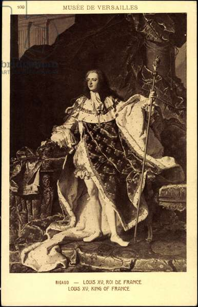 Louis XV, King of France, Rigaud, Museum of Versailles