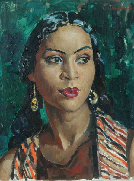 Head of a Dancer, 1936 (oil on canvas)