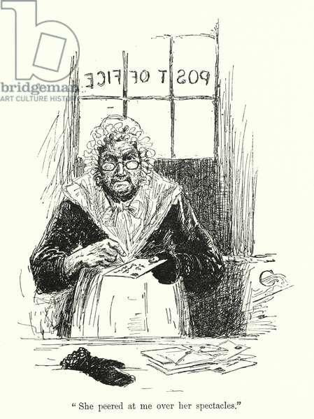 Illustration for Jane Eyre by Charlotte Bronte (litho)
