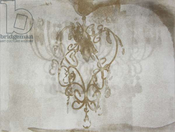 Chandelier, 2015 (solar-plate etching)