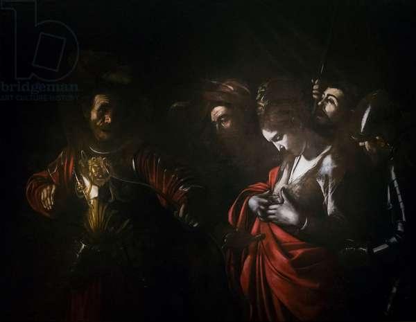 The martyrdom of saint Ursula, 1610 (oil on canvas)