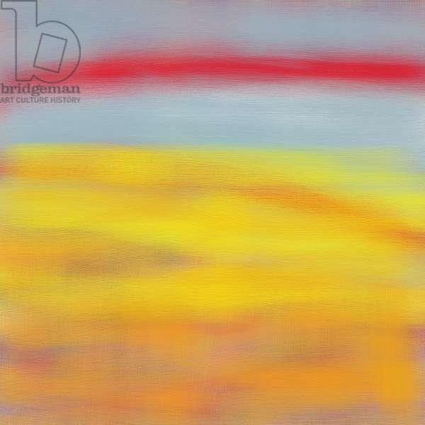 Summer fields,2015,(digital painting)