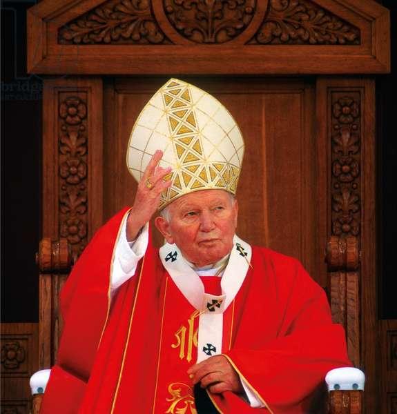 Pope John Paul II, Marija Bistrica, Croatia