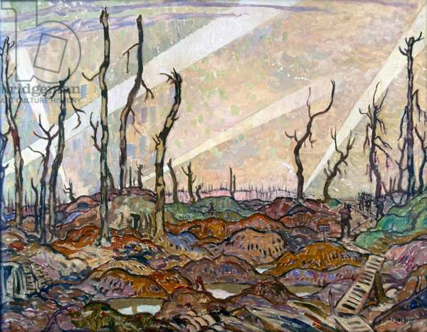 A Copse, in the Evening, 1918 (painting)