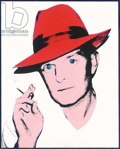 Truman Capote, 1979 (synthetic polymer & silkscreen ink on canvas) (diptych, see also 2647408)