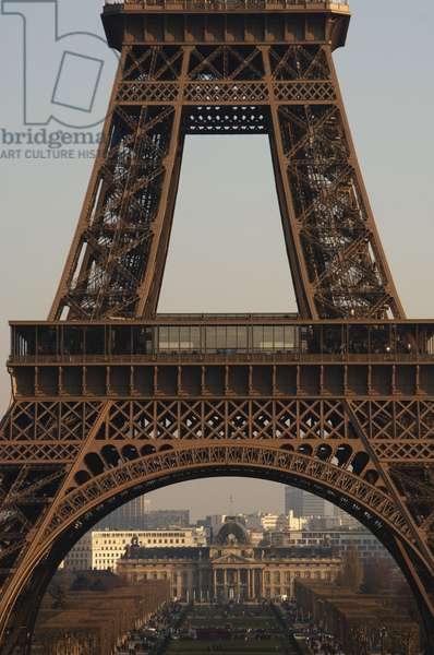 France, Paris, Eiffel Tower by Gustave Eiffel (1832-1923),