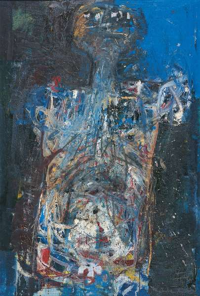 Anthropomorphic Figure, 1959 (oil on canvas)