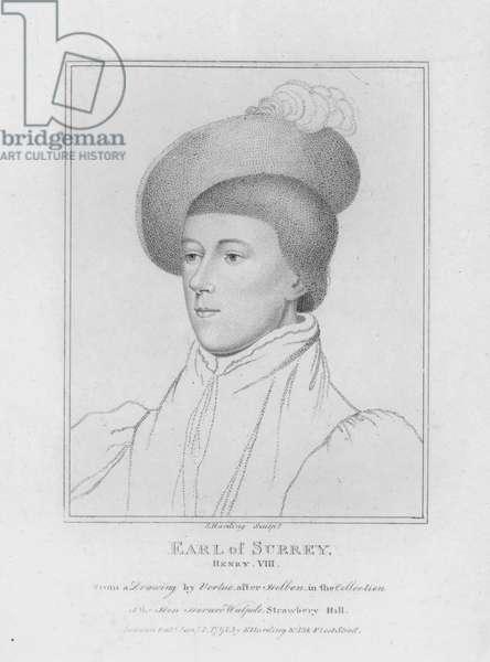 Earl of Surrey (engraving)