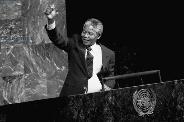 Nelson Mandela, President of South Africa, 1994