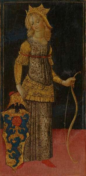 Oenone, 1460s (tempera on panel)