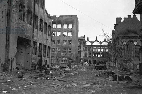 Stalingrad Destroyed From The Battle Of Stalingrad