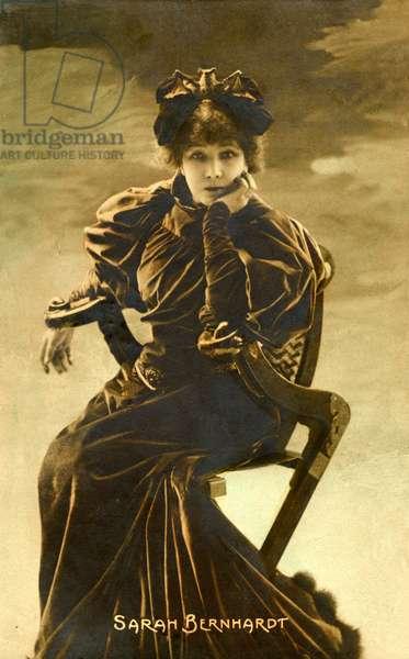 Sarah Bernhardt French actress