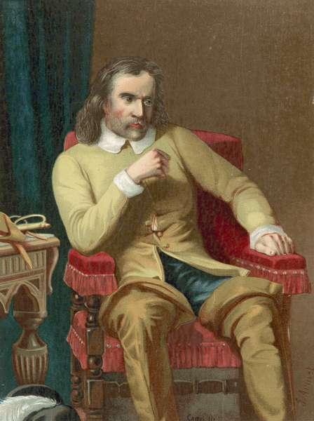 Oliver Cromwell (chromolitho)