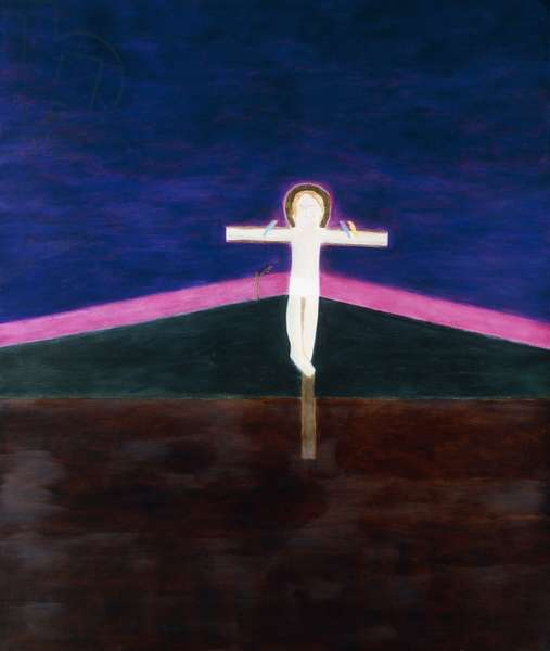 Crucifixion 8, 1985-6 (oil on canvas)