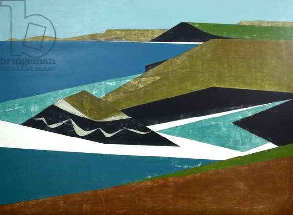 Harbour Coast 33, 2015 (acrylic on plywood)