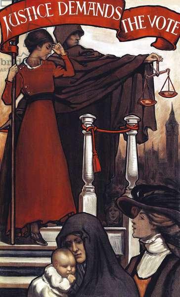 Justice Demands the Vote, 1911