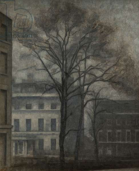 The Jewish School of Guilford Street, London, 1912-13 (oil on canvas)